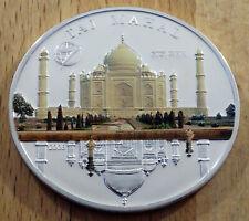 Mongolei - 500 Togrog - 2008 - Silber Farbe PP  - Taj Mahal - rar