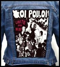 OI POLLOI - Unite And Win!   --- Giant Backpatch Back Patch