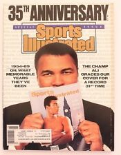 Vintage 1989 SPORTS ILLUSTRATED MAGAZINE 35th ANNY ALI Issue!!