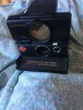 Polaroid Sx-70 Land Camera Supercolor Autofocus Model 2 UNTESTED