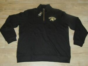 Colorado Buffaloes Champion 1/4 Zip Sweater Jacket Pullover Shirt Men's XL