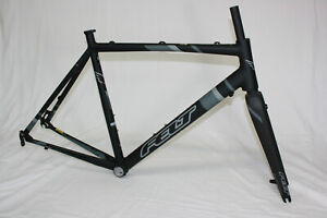 Felt FCAD Rahmen Set Cyclocross Gravel Rennrad Frameset 57cm, matt black Disc