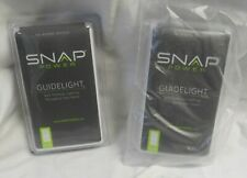 Pair of Snap Power SP102-WHPWM Décor Guidelight, Passway, White