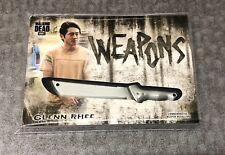 2018 Walking Dead Hunters And Hunted Glenn Rhee Weapon Medallion!