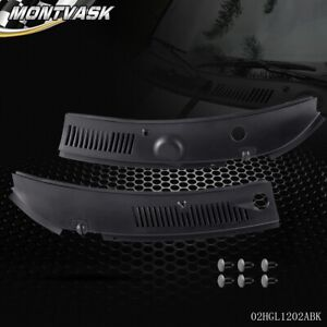 Windshield Wiper Cowl Cover For 99-04 Ford Mustang IMPROVED Wiper Cowl Grille