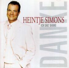 CD - Heintje Simons - Ich sag' Danke
