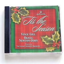 VINCE GILL OLIVIA NEWTON-JOHN CHRISTMAS MUSIC CD TIS THE SEASON HOLIDAY 2000