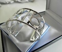 ✨ EXQUISITE ✨ IMPECCABLE✨ 23g sterling silver 925 fully HM cuff bangle bracelet