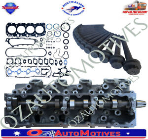New Ready to bolt 1KZTE cylinder head + Gaskets + Bolts Pack Suit Toyota Hilux