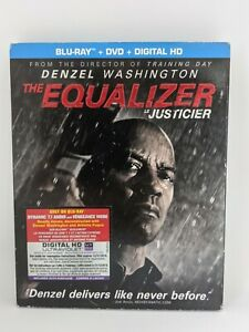 The Equalizer (Blu-ray/DVD, 2014, 2-Disc Set, Canadian Bilingual)
