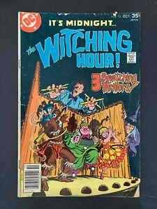 WITCHING HOUR  #74  DC COMICS 1977 VG+ NEWSSTAND