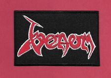 "New Venom 2 1/4 X 3 1/2"" Inch Iron on Patch Free Shipping Black Metal England"