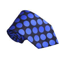 Men's Polka Dot Design Polywoven Tie & Hanky 2 Piece Set 6 Colors
