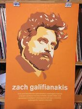 Zach Galifianakis Concert Poster design by Henry Owings edn of 200