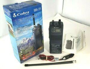 Cobra HH-35 2-Way Portable CB Radio 40 Channel Excellent New In Box