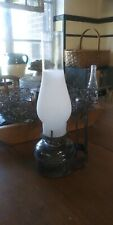 Vintage Oil Lamp Rustic Wall Mount. With Globe. Barn/ Farm /Cabin
