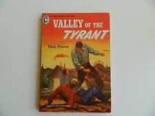 Valley of the Tyrant by Dick Pearce, Handi-Book #125, Original Western 1951