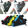 Triangle Cycling Bike Bicycle Frame Front Tube Pouch Storage Bag Phone Holder