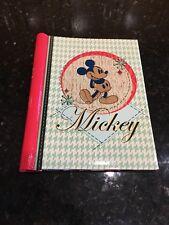 DISNEY MICKEY MOUSE PHOTO ALBUM Holds 32 - 4x6 PHOTOS EUC