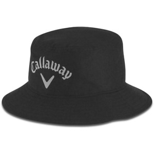CALLAWAY AQUA DRY WATERPROOF GOLF BUCKET HAT / ALL SIZES / NEW FOR 2021