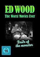 ED WOOD/TOR JOHNSON/LORETTA KING/+ - BRIDE OF THE MONSTER  DVD NEU