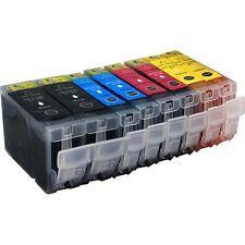 8 Druckerpatronen für Canon IP 3000 ohne Chip