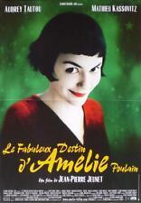 AMELIE POULAIN - TAUTOU / JEUNET / PARIS - ORIGINAL RARE FRENCH MOVIE POSTER