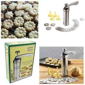 Biscuit Maker 25Pcs Cookies Press Cake Decorator Pump Biscuit Machine Syringe