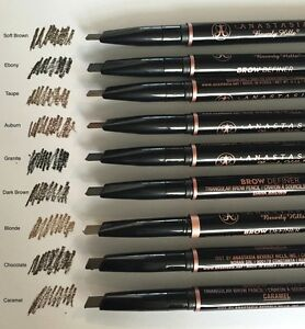 100% Authentic Anastasia Beverly Hills Brow Definer Choose 1 Shade New In Box