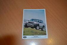 PHOTO DE PRESSE ( PRESS PHOTO ) Land Rover Freelander XE  de 1997 R0150