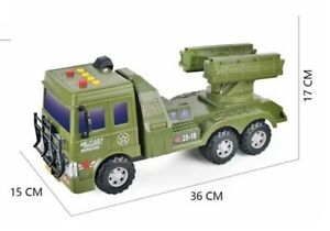 Kids Army truck with sound and lights, Back to school Xmas Gift New