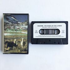 Caliche - The Dance of The Llamas - Pan Pipes - Cassette CALCAS 103