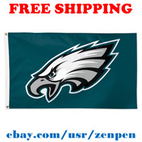 Deluxe Philadelphia Eagles Team Logo Flag Banner 3x5 ft NFL Football 2019 NEW