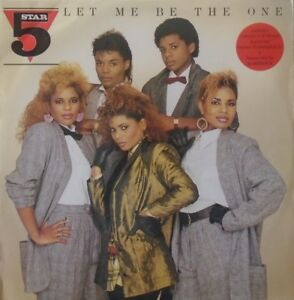 """FIVE STAR ~ Let Me Be The One ~ 12"""" Single PS"""