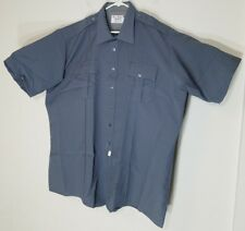TEX-TROP BY ELBECO MEN/WOMEN LAW ENFORCEMENT/SECURITY SHORT-SLEEVE SHIRT SIZE 19