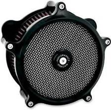 Performance Machine Black Super Gas Air Cleaner 0206-2006-B FITS HARLEY DAVIDSON