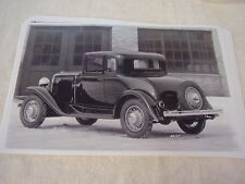 1931 OLDSMOBILE  BUSINESS COUPE 11 X 17  PHOTO   PICTURE