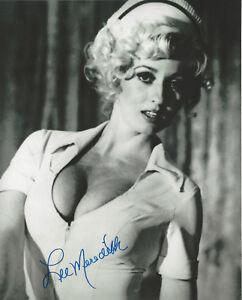 Sexy Playboy model & Actress Lee Meredith  autographed 8x10 photo bonus 4x6 **