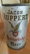 Jacob Ruppert Knickerbocker Irtp flat top beer can empty
