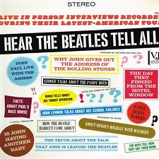 hear THE BEATLES tell all U.S. VEE-JAY LP PRO-202_interviews with the BEATLES