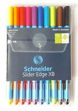 Schneider Slider Edge XB Triangular Pens ** Pack Of 10 Mixed Colours  **