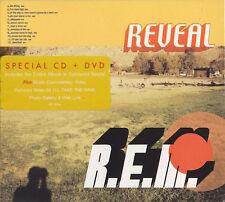 R.E.M. - REVEAL . CD+DVD Limited Edition. New. RARE w. unique I'll Take The Rain
