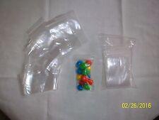 50 ct Clear 2x3 2ml ziplock bags zip