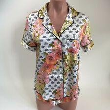 Victoria's Secret Satin Short Sleeve Sleepwear Top XS & Short S  2pcs Set  NWT