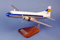Lufthansa Convair CV-440 D-ACAP Desk Top Display Wood Model 1/65 AV Airplane New