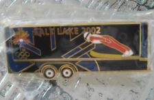 NEW Rare 2002 Winter Olympics Pin Salt Lake City Skiing SKI JUMP olympic USA