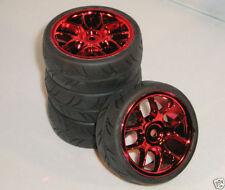 Telai, articoli rosso per la trasmissione e ruote di modellini radiocomandati 1:10
