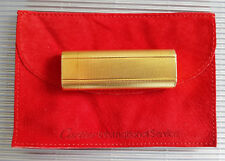 CARTIER FEUERZEUG GOLD FINISH LÉGER ACCENDINO ENCENDEDOR GAS LIGHTER