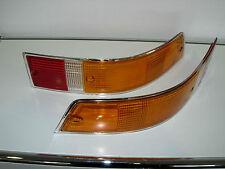 Porsche 911 Rücklichtglas Blinkerglas Paar chrom Satz 91163192300 91163192400