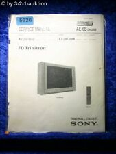 Sony Service Manual KV 29FX66E /29FX66K Color TV (#5626)